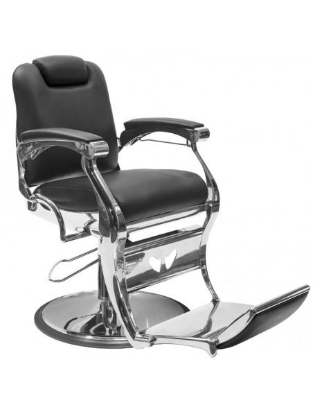 Barber stol ANGELO i svart