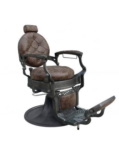 Barberstuhl WAYNE Retro braun