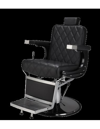 Barber Chair Duke in schwarz Herrenfriseurstuhl