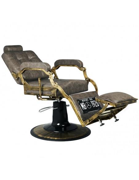 Barber Chair Boss in braun