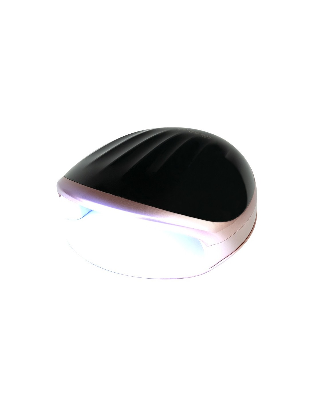 DUAL LED UV Nagellampa 48W BLACK S5 ROSE | Beautyous.se