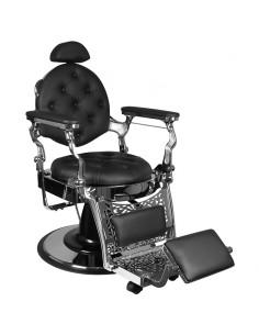 Barber Chair RETRO II silver base