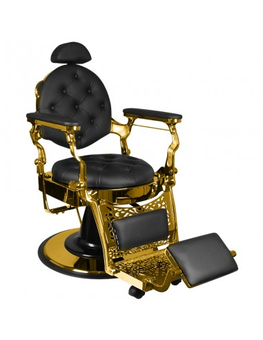 Barber Chair RETRO II gyllene base