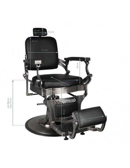 Barber Chair Satin Matt