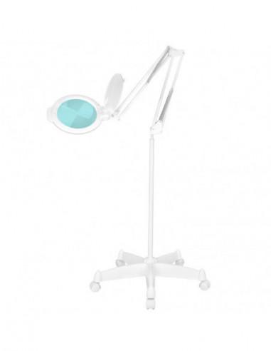 Lupplampa 5D Moonlight vit