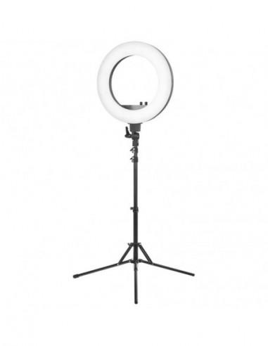 """Perfect Light Ljusring LIGHT 18 """"+ 48W LED Tripod / Justerbar ljusintensitet"""