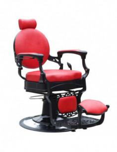 Barber Chair Jesse James RÖD