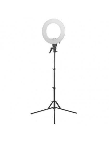 "LAMP ljusringen Perfect Light 12 ""35W LED WHITE + STAND"
