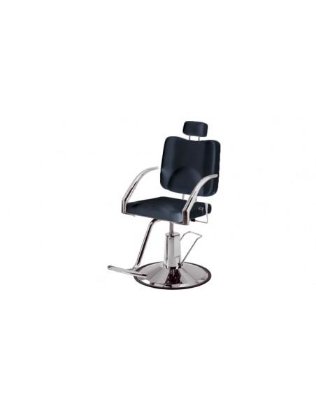 Makeup stol Frisörstol unisex i svart eller softvit